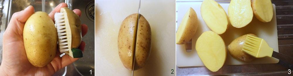 Patate ripiene di chili ricetta potato skins il chicco di mais 1