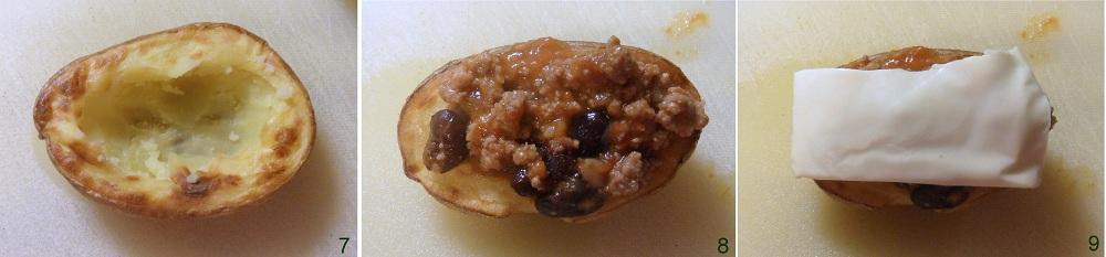 Patate ripiene di chili ricetta potato skins il chicco di mais 3