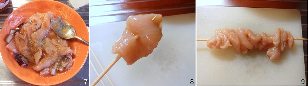 Spiedini di pollo in agrodolce ricetta light il chicco di mais 3