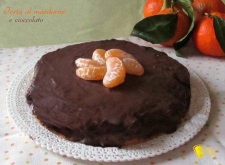Torta al mandarino e cioccolato (ricetta dolce)