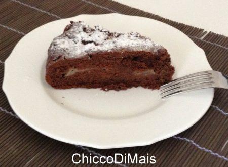 Torta cioccolato e pere (ricetta dolce)