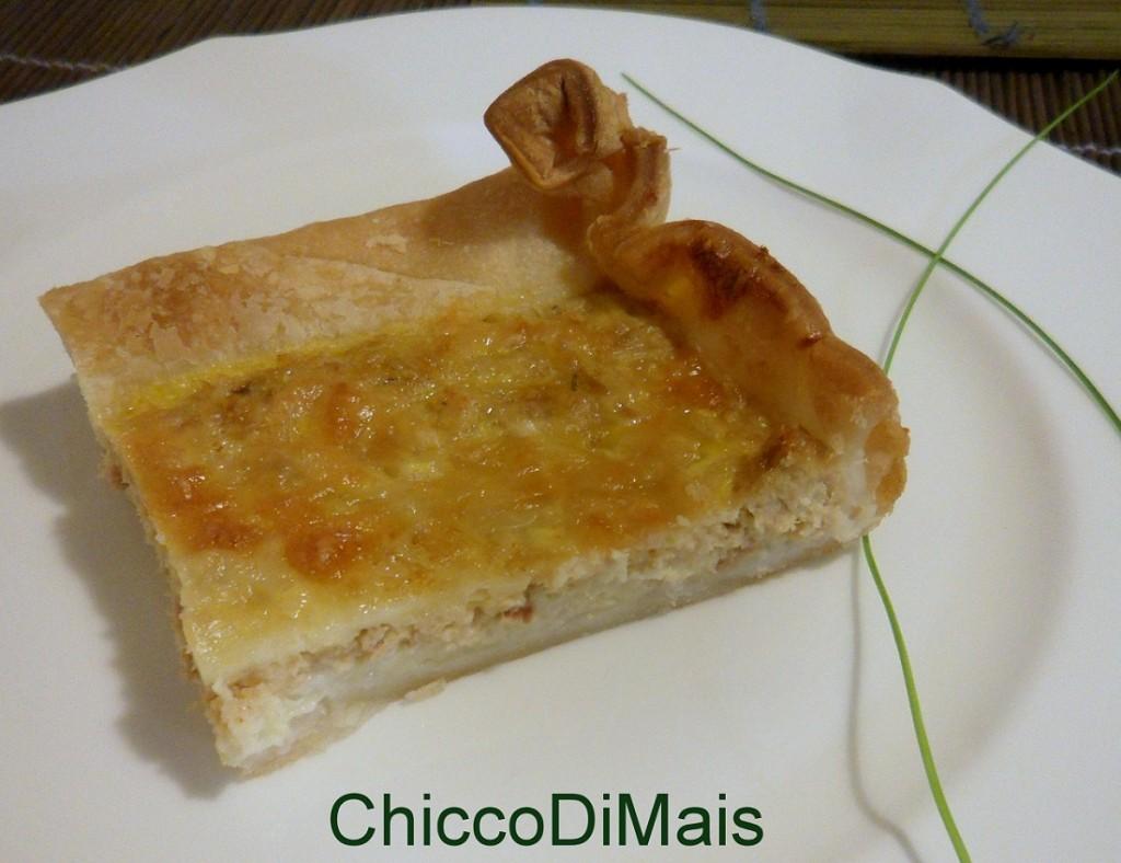Torta salata con tonno e stracchino ricetta veloce il chicco di mais