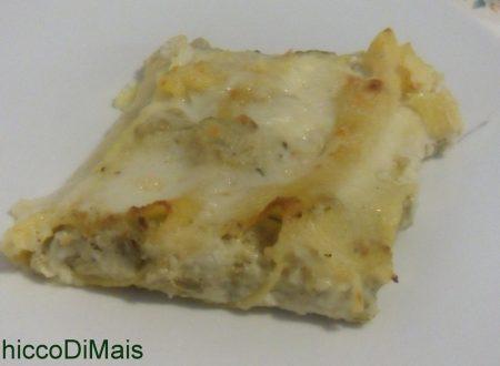 Cannelloni ai carciofi e ricotta (ricetta vegetariana)