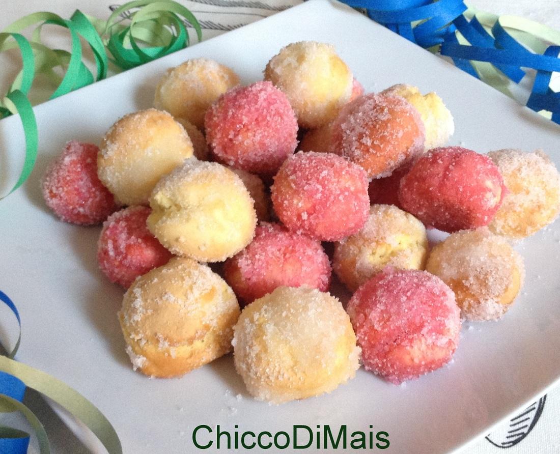 raccolta di ricette dolci di carnevale castagnole al forno il chicco di mais