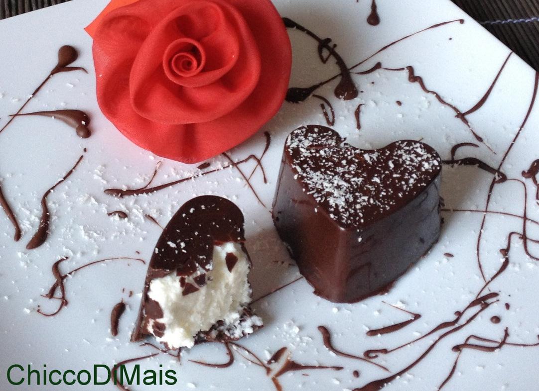 Raccolta di ricette dolci senza forno il chicco di mais Cuori,di,cioccolato,