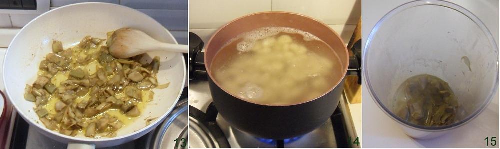 Gnocchi alla crema di carciofi ricetta senza panna e burro il chicco di mais 5