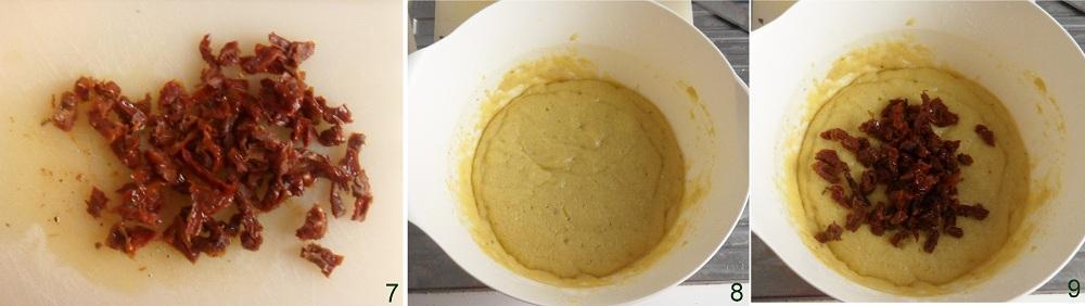 Muffin salati con pomodori secchi e peperoncino ricetta di San Valentino il chicco di mais 3