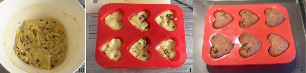 Muffin salati con pomodori secchi e peperoncino ricetta di San Valentino il chicco di mais 4