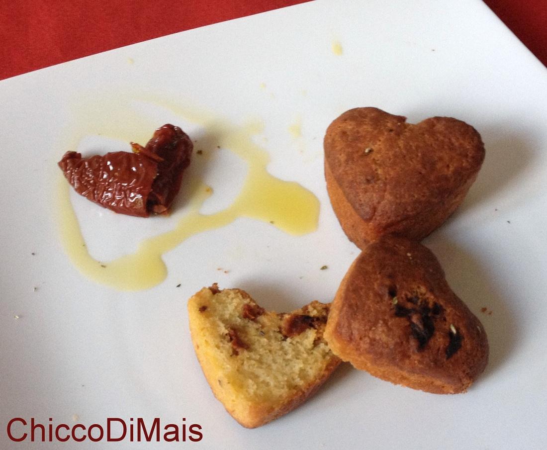 Muffin salati piccanti ricetta antipasto cena romantica il chicco di mais