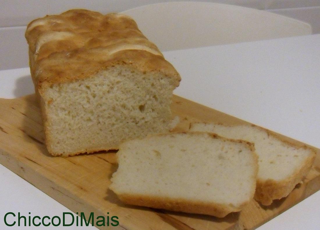 Pane in cassetta senza glutine ricetta con Mdp o a mano il chicco di mais