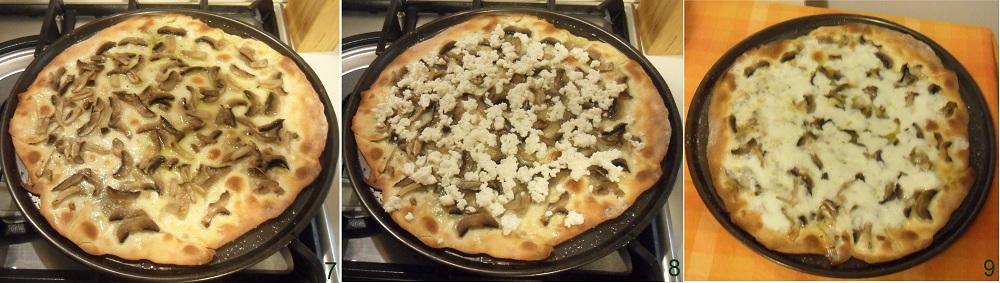 Pizza ai funghi ricetta pizza a base bianca il chicco di mais 3