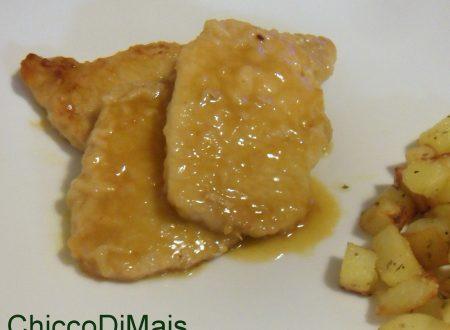 Scaloppine di maiale all'arancia (ricetta veloce)
