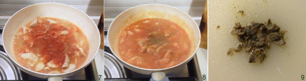 Straccetti di pollo alla pizzaiola ricetta saporita il chicco di mais 3