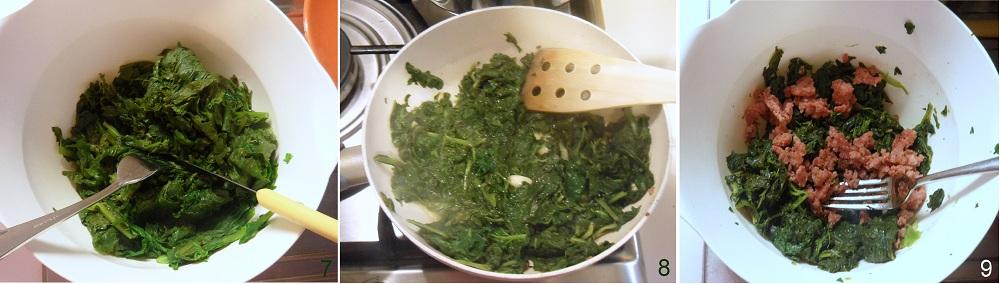 Torta salata con salsiccia e broccoletti ricetta invernale il chicco di mais 3