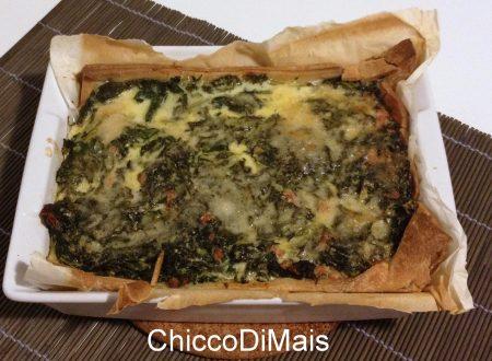 Torta salata salsiccia e broccoletti (ricetta invernale)