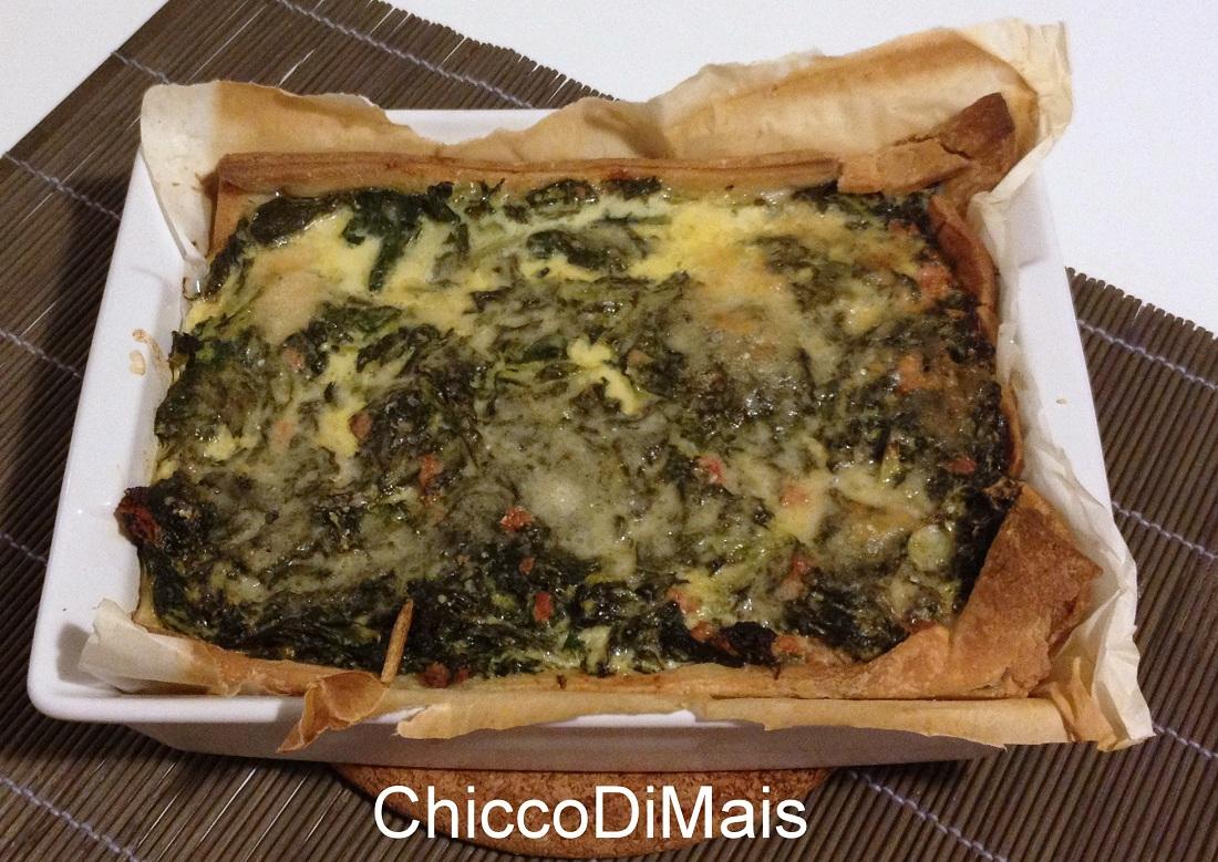 Torta salata con salsiccia e broccoletti ricetta invernale il chicco di mais