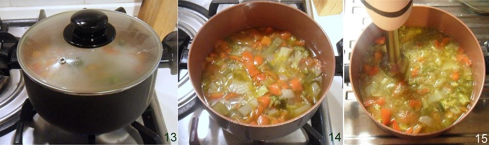 Vellutata di verdure depurativa ricetta light il chicco di mais 5