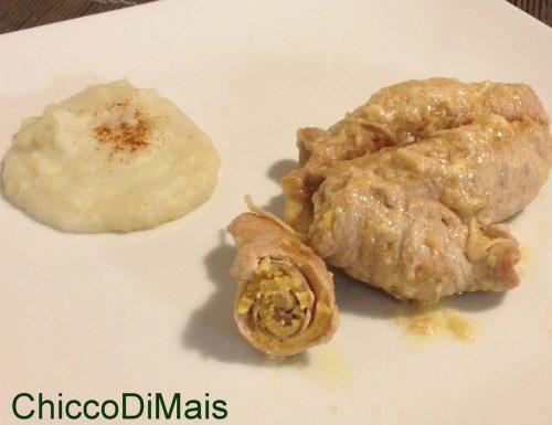 Involtini alla senape (ricetta gustosa)