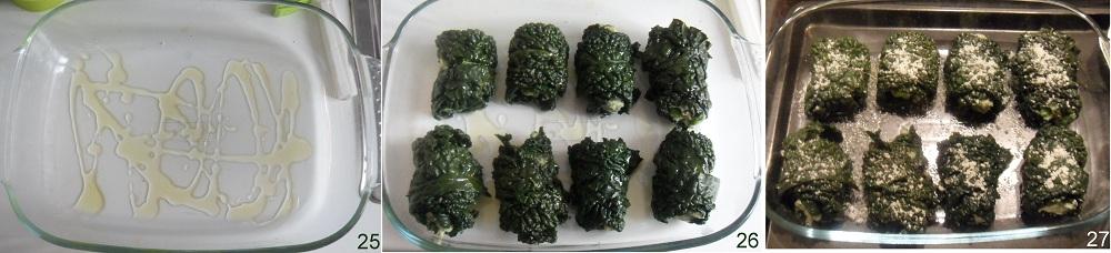 Involtini di cavolo con tortini di verdure ricetta involtini vegetariani il chicco di mais 9