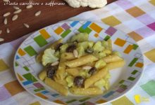 Pasta al cavolfiore e zafferano (ricetta siciliana)