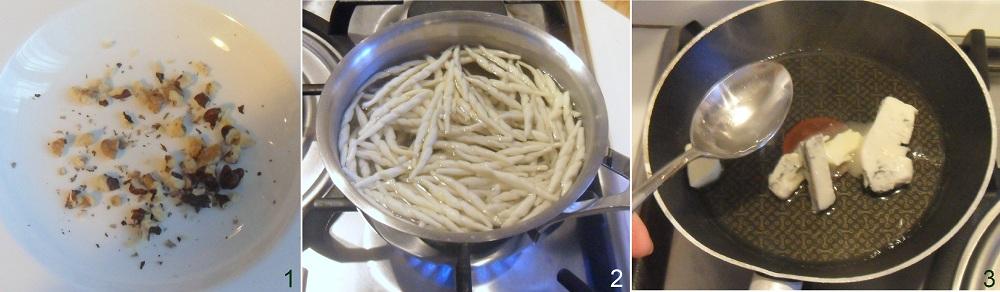 Pasta al gorgonzola e noci ricetta veloce il chicco di mais 1