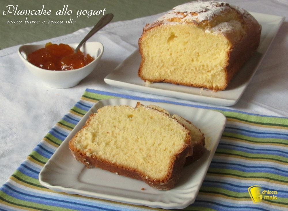 Populaire Plumcake allo yogurt (ricetta light senza burro e senza olio AK26