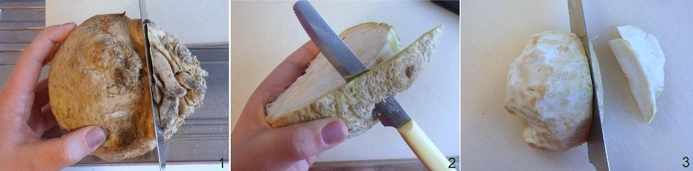 Sedano rapa gratinato ricetta contorno il chicco di mais 1