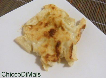 Sedano rapa gratinato (ricetta contorno)