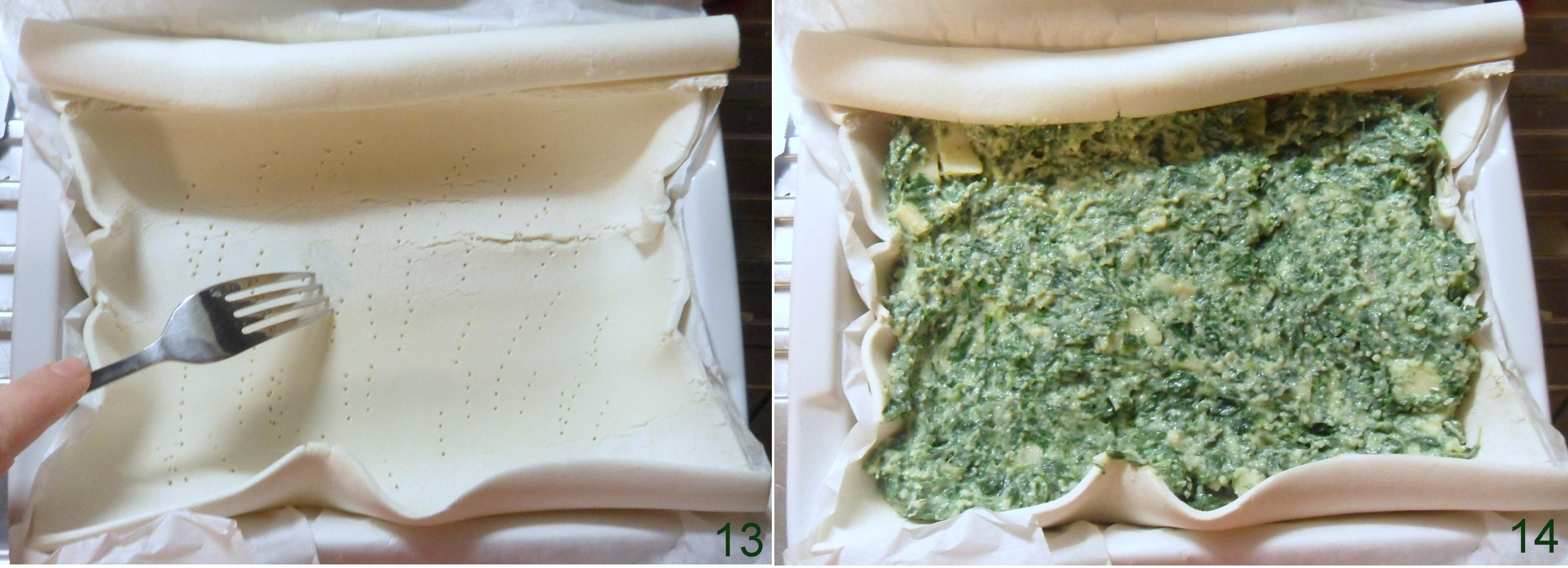 Torta salata con ricotta e spinaci ricetta classica il chicco di mais 5
