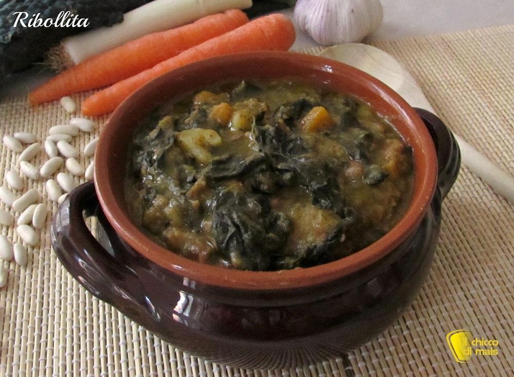 menu di natale vegetariano ribollita ricetta toscana il chicco di mais