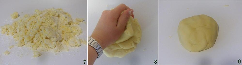 Biscotti con farina di riso ricetta senza glutine il chicco di mais 3 impastare