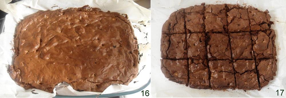 Brownies al cioccolato ricetta americana il chicco di mais 6