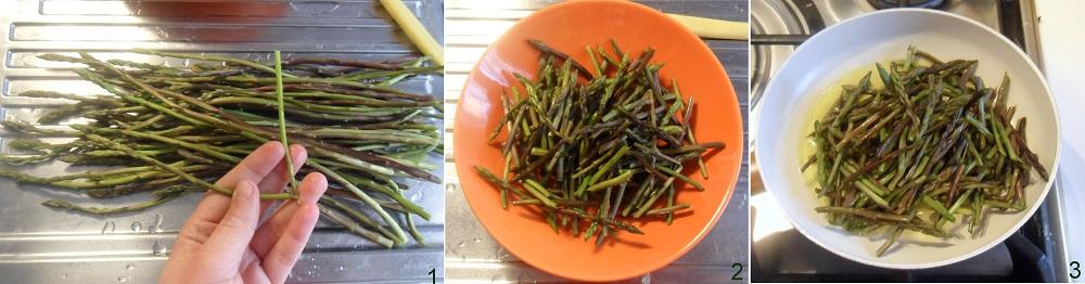 Calzone con ricotta e asparagi selvatici ricetta al forno il chicco di mais 1
