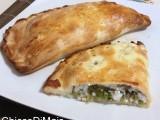 Calzone con ricotta e asparagi selvatici ricetta al forno il chicco di mais