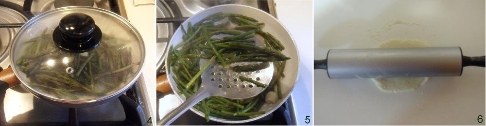 Calzone con ricotta e asparagi selvatici ricetta al forno il chicco di mais 2