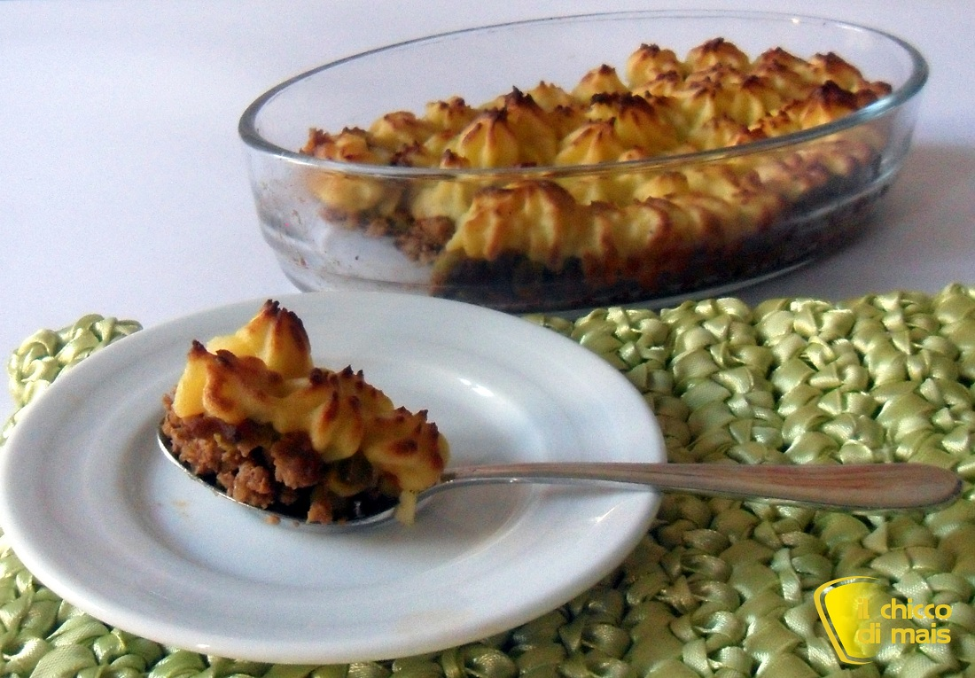 Cottage pie pasticcio di carne ricetta inglese for Planimetrie inglesi del cottage