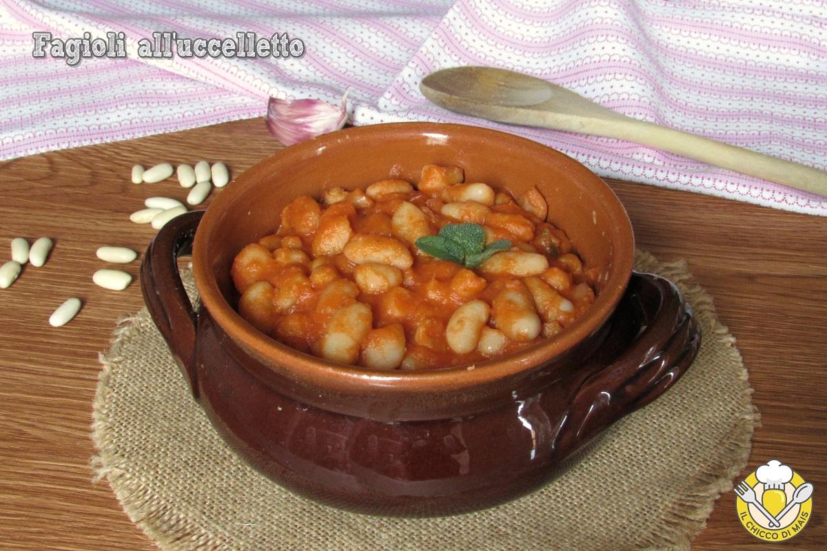 Fagioli all'uccelletto ricetta toscana originale fagioli cannellini al pomodoro in umido il chicco di mais