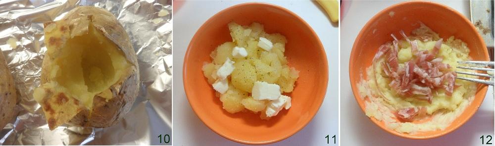 Jacket potato o patate farcite ricetta inglese il chicco di mais 4