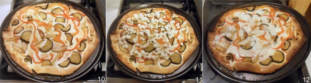 Pizza alle verdure ricetta vegetariana il chicco di mais 4