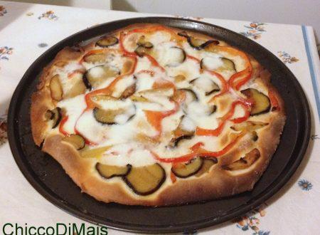 Pizza alle verdure (ricetta vegetariana)