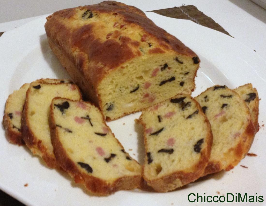 Plumcake con prosciutto e olive ricetta torta salata il chicco di mais