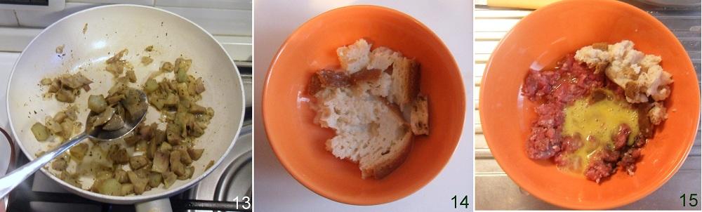 Polpette di carciofi e carne ricetta secondo il chicco di mais 5