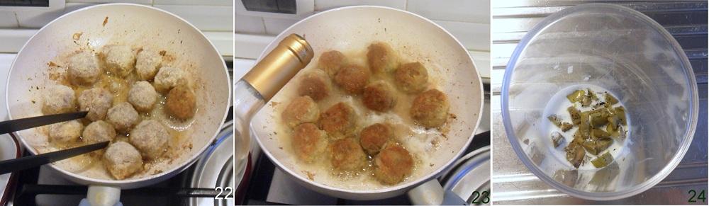 Polpette di carciofi e carne ricetta secondo il chicco di mais 8