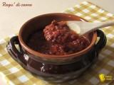 Ragù di carne ricetta base il chicco di mais
