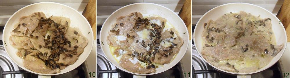 Scaloppine ai funghi ricetta facile il chicco di mais 4