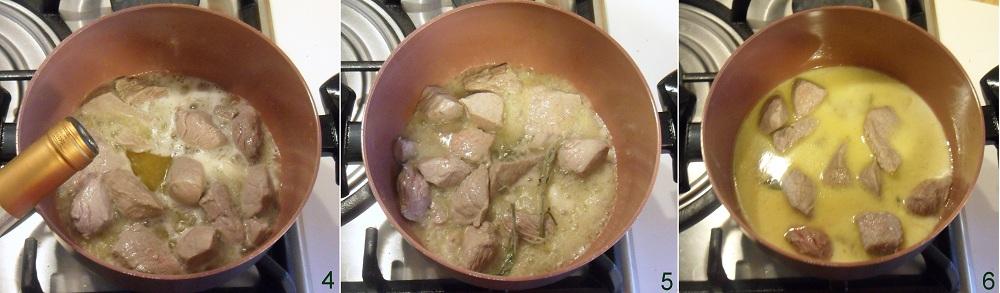 Spezzatino alla crema di noci ricetta secondo il chicco di mais 2