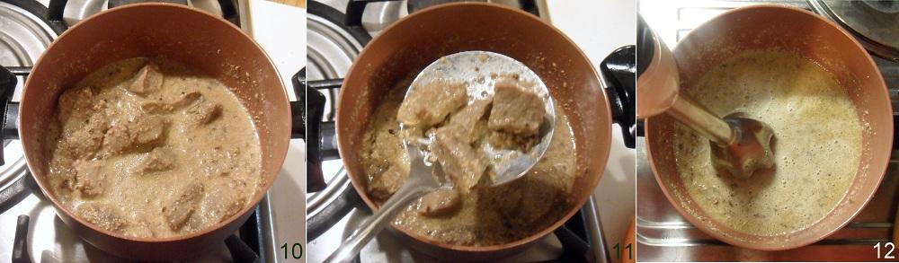 spezzatino di vitello con salsa alle noci