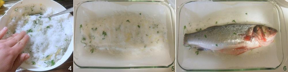 Spigola o branzino al sale ricetta light il chicco di mais 2