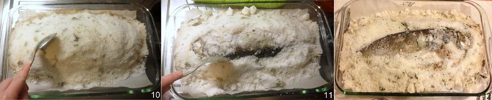 Spigola o branzino al sale ricetta light il chicco di mais 4