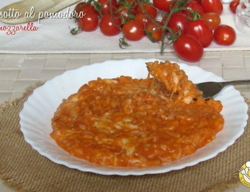 Risotto al pomodoro e mozzarella